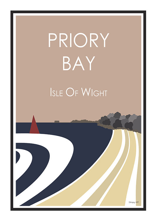 PRIORY BAY I.O.W (pink)