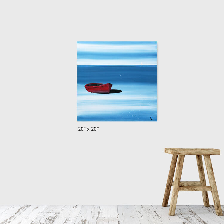 red boat, sold