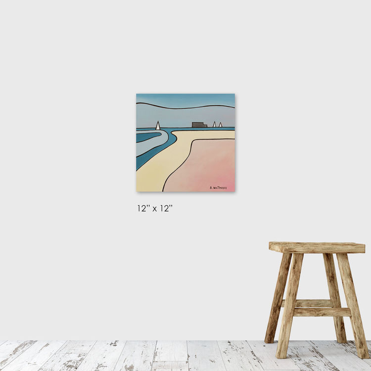 summer blush (framers gallery)