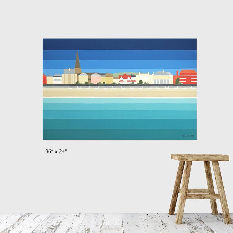 Weymouth & white huts £695