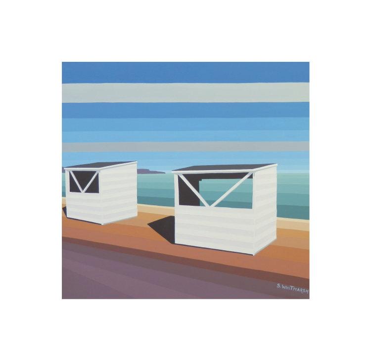 White Huts At Weymouth DORSET
