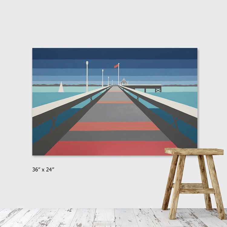 yarmouth pier £595 (ARTIST)