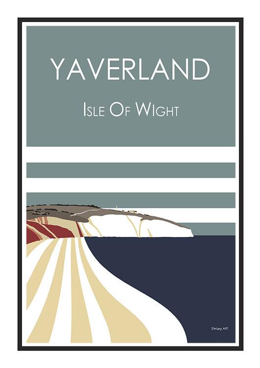 YAVERLAND IOW (BLUE)