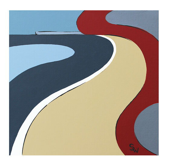 PRIORY BAY ABSTRACT £30