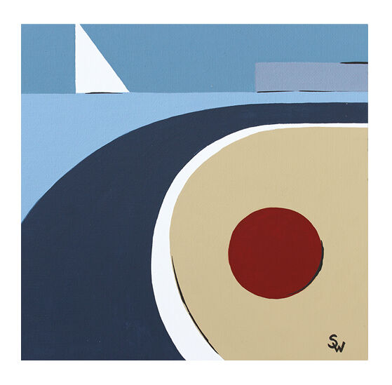 BEMBRIDGE ABSTRACT £30