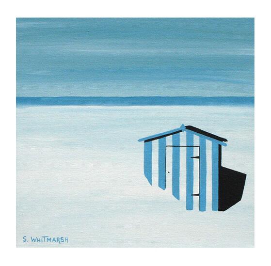 BLUE BEACH HUT £30