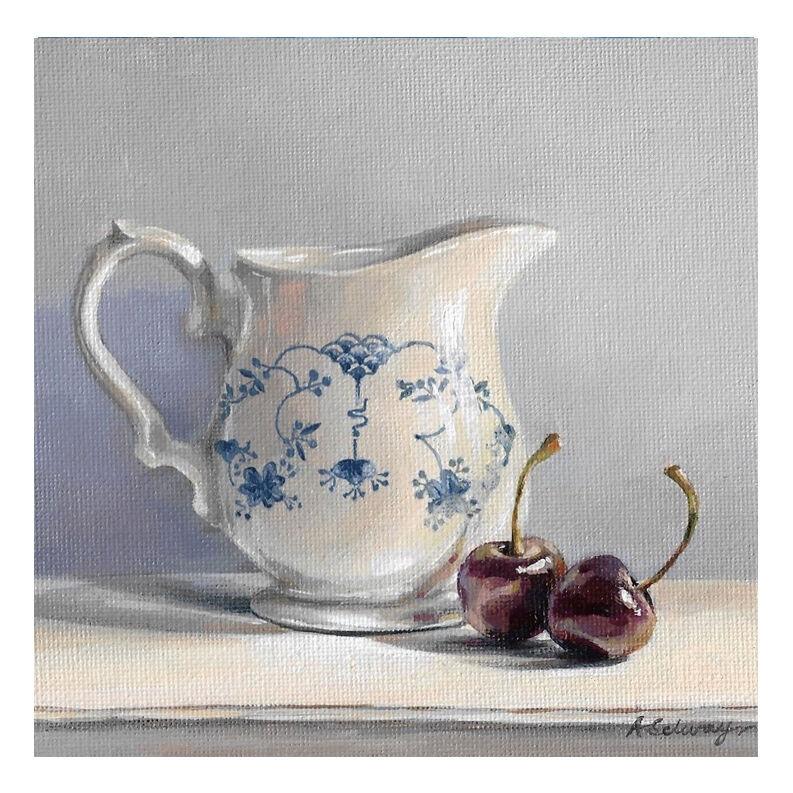 Cherries and cream jug £50
