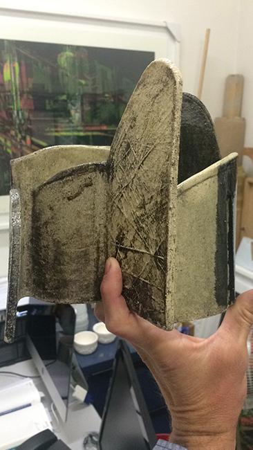 ceramic in hand