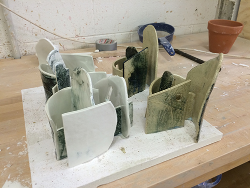 just out the kiln