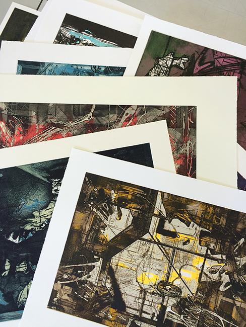 sorting prints