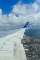 Thomas Cook flying to Manchester from Lanzarote 02 March 2011