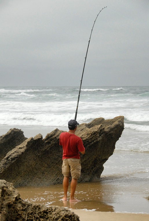 Beach Fishing South Africa