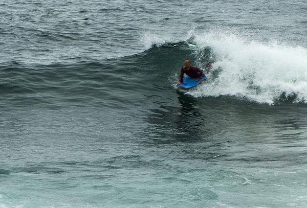 Body Board Surfer