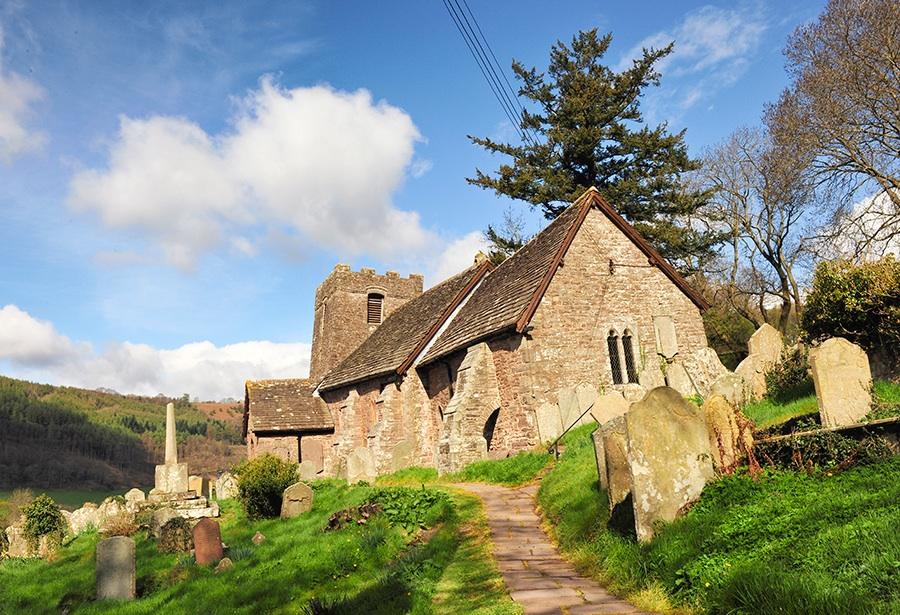 Church on a Landslide