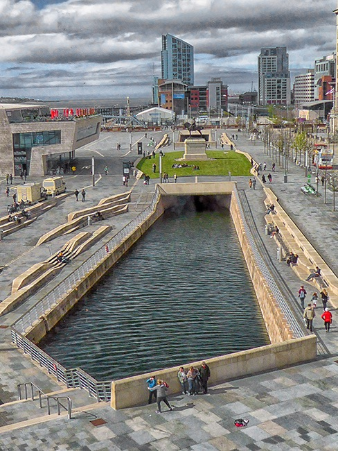 Liverpool Waterfront Canal