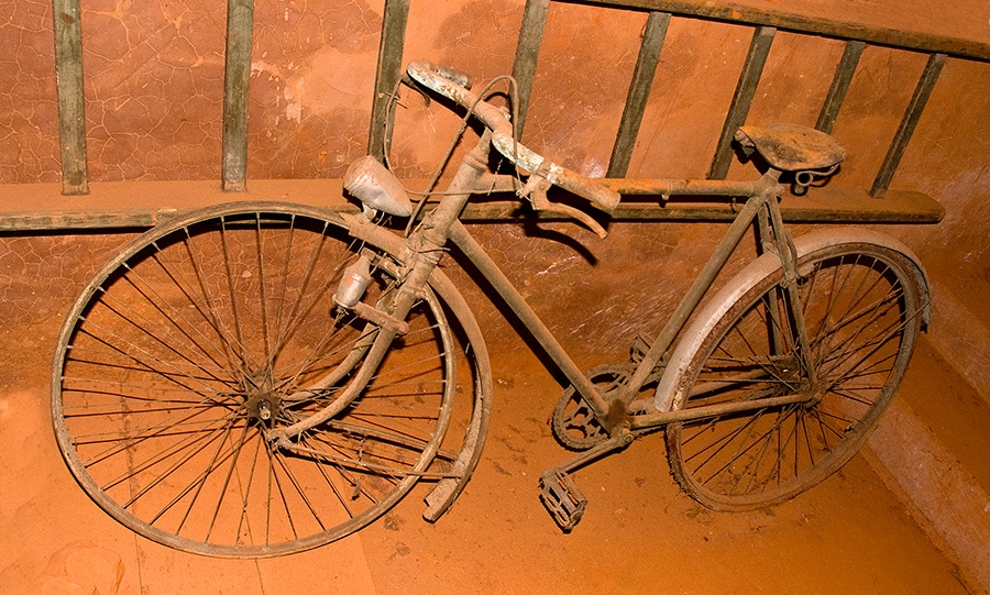 Ochre Bicycle