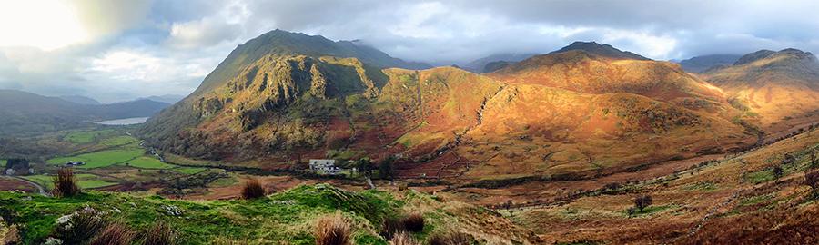 Ogwen Valley Panorama