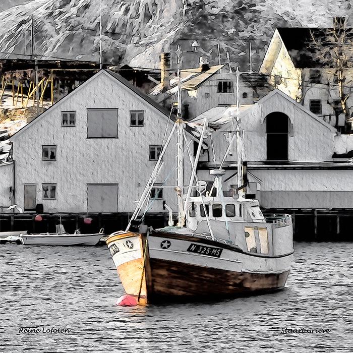 Reine Harbour Lofoten