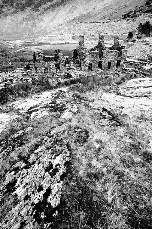 Slate Miners Cottages