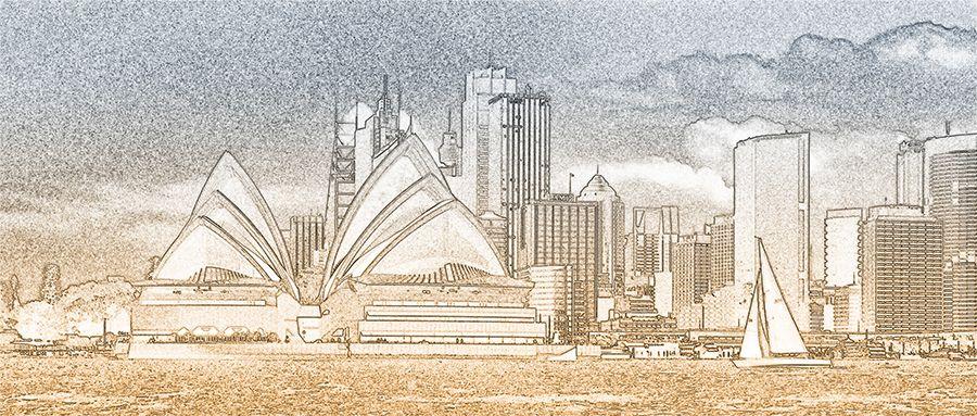 Sydney Sketch