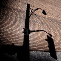 Traffic Light Wall Shadow