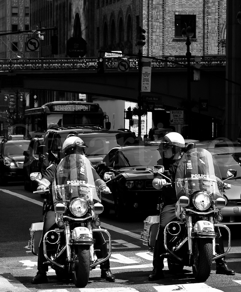 Motorcycle Cops NYPD