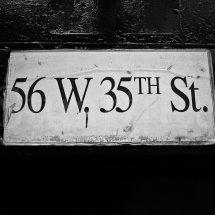 New York 56W&35th
