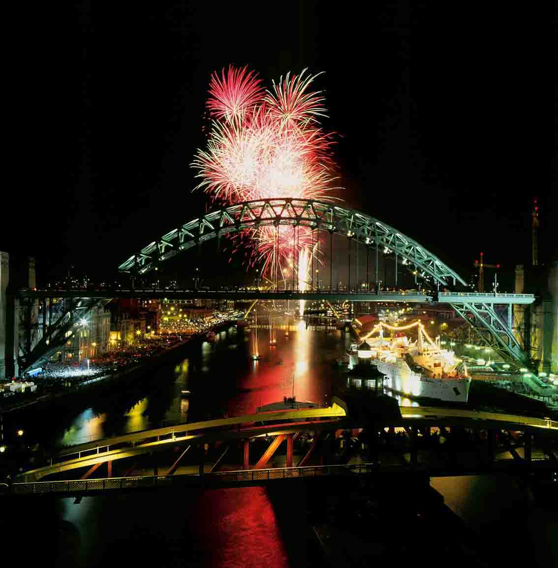 Tyne Bridge Newcastle UK