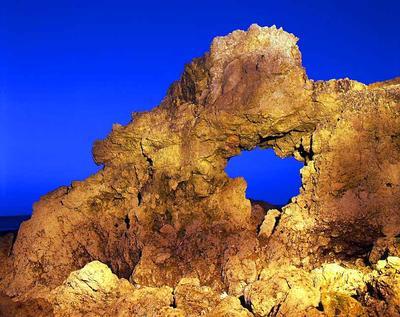 Donut Rock, Camel Island, South Shields, UK