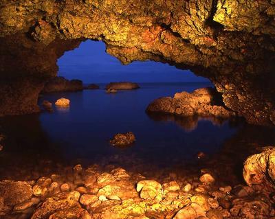 Cave near Camel Island