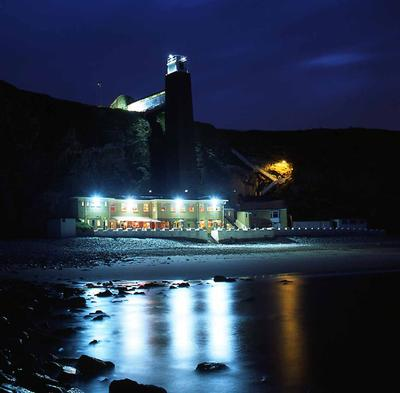 The Grotto Pub, Marsden Bay, South Shields, UK