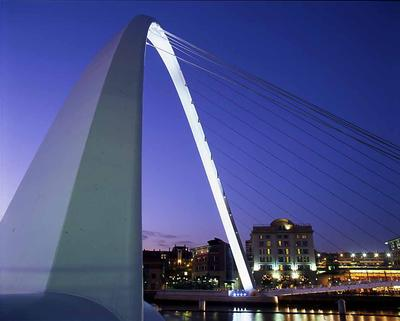Millenium Bridge Gateshead UK
