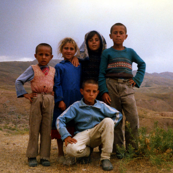 Kurdish Children Turkey