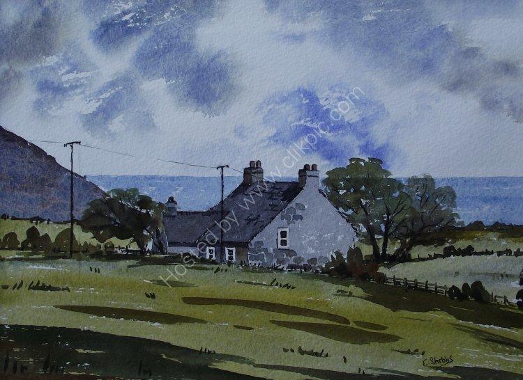 Cottage overlooking Aberdaron Bay