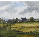 Hendrefor -A farm on the Llyn Peninsula (oil)