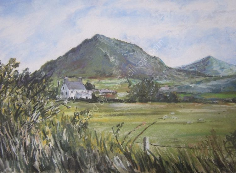 View towards Garn Fadryn
