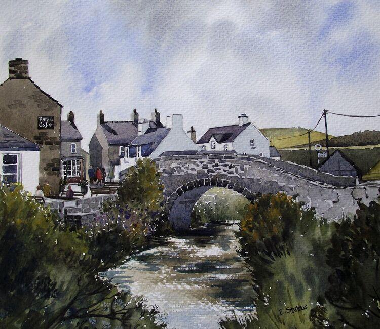 Pont Aberdaron -oil (Sold)