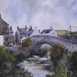 Pont Aberdaron - watercolour (Sold)