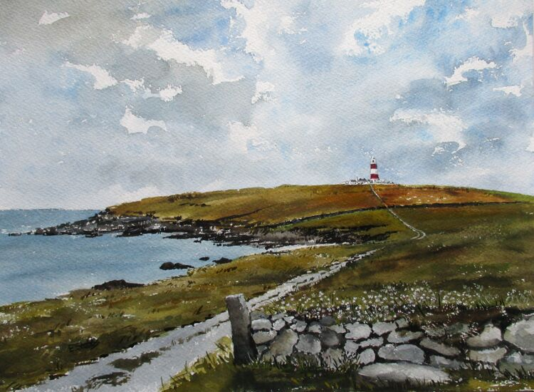 The Road to the Lighthouse - April