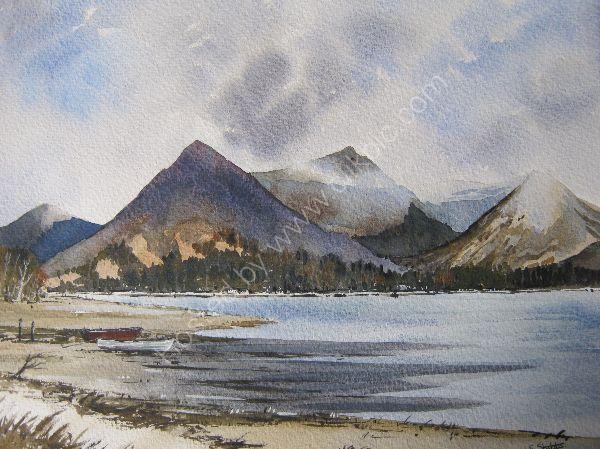 View across Loch Etive