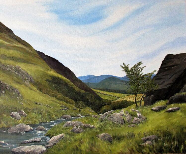 Welsh Mountain Stream.