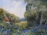 Bluebell glade near East Lavant (Sold)