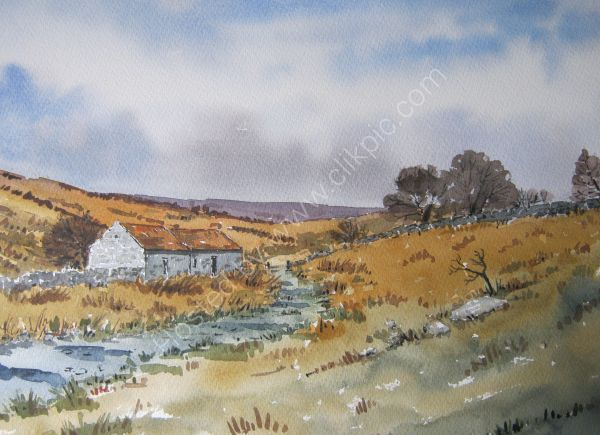 Barn in the Yorkshire Moors (NFS)