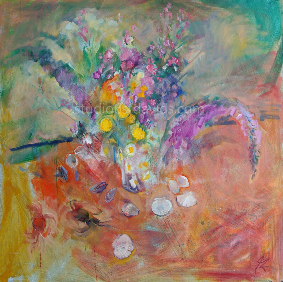Flowers and shells 2