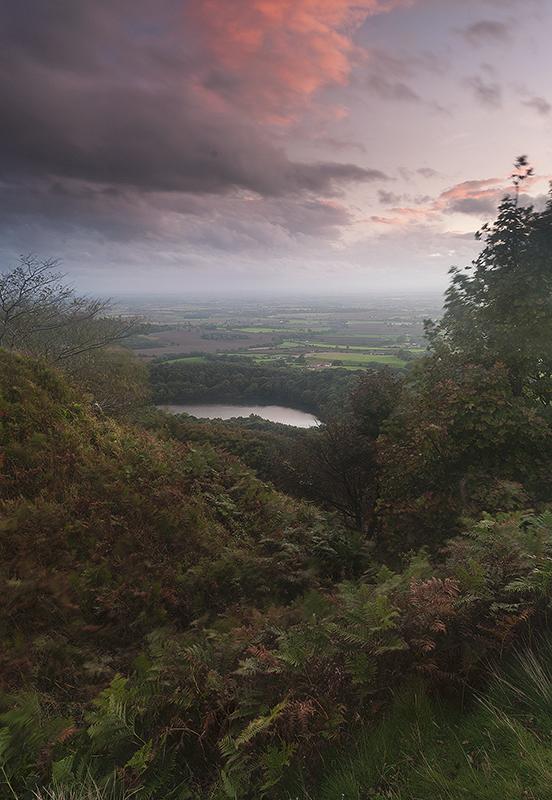 Overlooking Gormire Lake