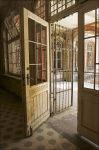Entrance to the sanatorium.