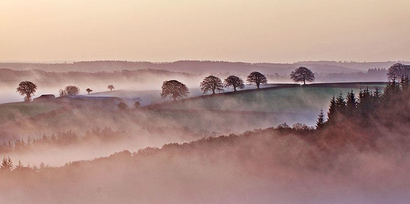 The valley at dawn
