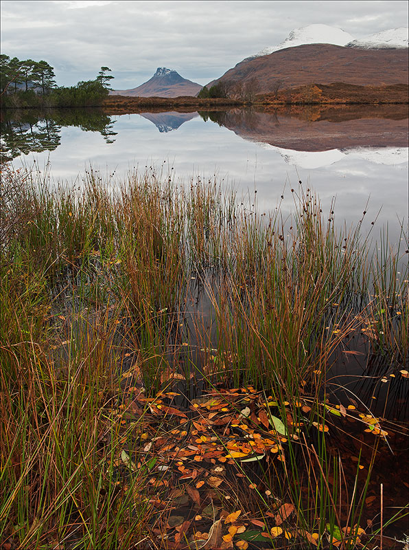 Across the loch to Stac Pollaidh
