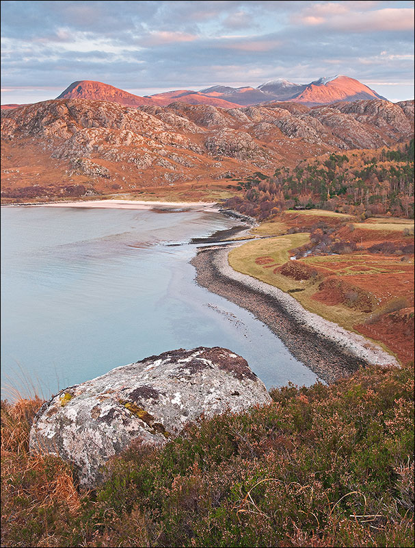 View across Gruinard Bay