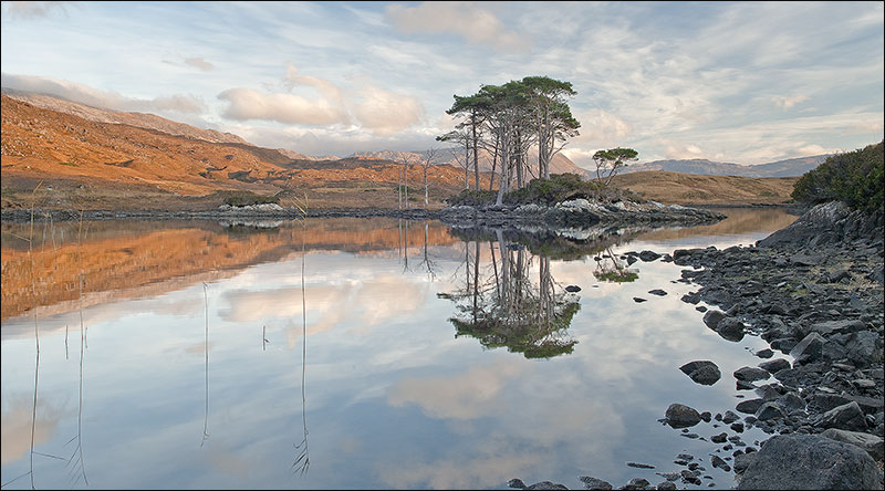 Still waters at Assynt.